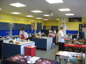 Competitors in the Kitchens