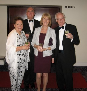 Glenys ( Chester IW), Rtn Clive Bond (Chester), Rtn Pam and Rtn Peter.